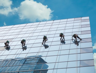 Professional School Window Cleaning Service