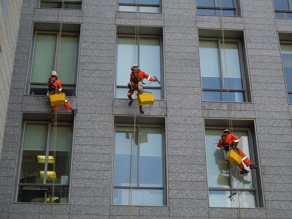 Image result for commercial window cleaning